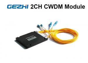 China 2 Channels Acess Network CWDM Mux Demux ABS Pigtailed Module on sale