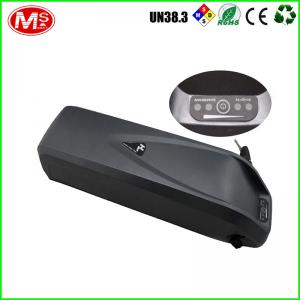 China Black Li-Ion 36v 10ah Electric Bike Battery For Big Cat Bikes TLH-EV032 on sale