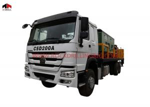 China Truck Mounted Hydraulic 200m Water Well Drilling Truck on sale