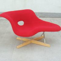 China La Chaise Longue with full upholstered by Charles & Ray Eames on sale
