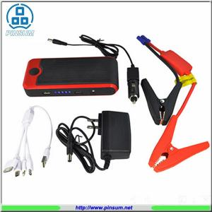 China 12V Jump Starter 12000MAH Jump & Go Portable Jumpstart Red Car Auto Jump Starter on sale