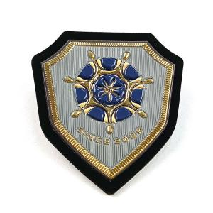 China 3D Logo Print Welding High Frequency Soft Heat Embossed Tpu Badges For Clothing on sale
