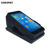 China Wireless 3G Handheld POS Terminal 90mm/s Printing Speed For Retail / Restaurant on sale