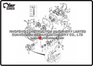 China Hitachi Excavator Spare Parts EX200-5 EX200-5 200LC-5 210H-5 210LCH-5 Pump Pump Device on sale