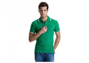 China Soft Hand Feeling Personalised Work Polo Shirts Customized Logo For Adults on sale