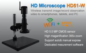 China Monocular WiFi KOPA Microscope With HD 5.0 MP For Mobile Phone And Tablet PC on sale