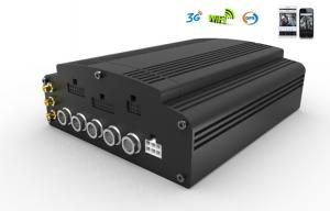 China 3G / GPS hard disk Mobile Vehicle DVR supports 4CH 720P AHD with WIFI G-Sensor on sale