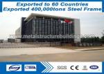 PVC / Aluminum Windows / Door Prefabricated Steel Structures Shot Blasting