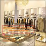 high quality Stylish popular clothing retail store display fixtures