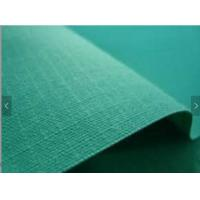 China Greige Pattern Waxed Tent Canvas Fabric Anti - UV With Non - Slip PVC Coating on sale