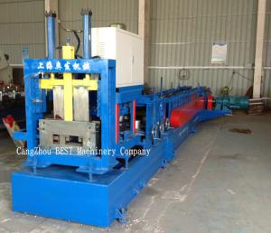 China Automatic C Purlin Roll Forming Machine 15-20m/Min PLC Control System on sale