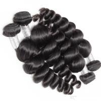 China Unprocessed Brazilian Virgin Hair 10-30 Loose Wave Bundle Human Hair Extensions Top Selling African American Hairstyles on sale
