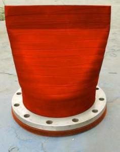 China Pipeline Rubber Check Valve on sale