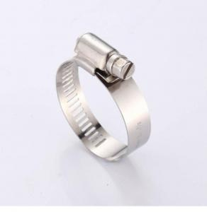 China Hardware Tools Stainless Steel Beam 12mm Hose Pipe Clamp on sale