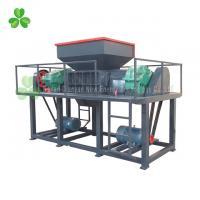 Durable Double Shaft Shredder Machine High Capacity Copper Cable Shredder Machine