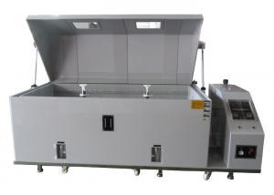China LCD Display Salt Spray Cabinet , Salt Spray Test Machine Touch Control Panels Design on sale