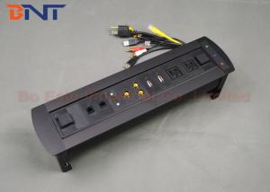 Conference Room Tabletop Hidden Electric Rotation Power Socket Cm - Conference table electrical sockets