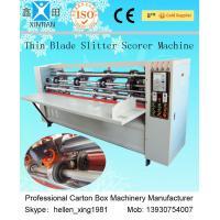 Single Facer Vertical-cut Pressing Folding Carton Corrugated Box Packaging Machine