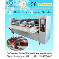 Vertical Carton Packing Machine , Automatic Corrugation Paper Folding Machine