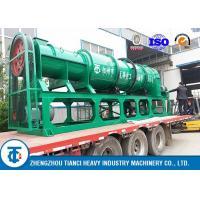 China Compost Fertilizer Making Machine , Organic Fertilizer Manufacturing Machine on sale