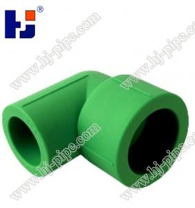 China Plastic pipe fittings PPR Reducing elbow on sale