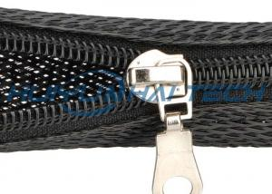 China Automotive Zipper Sleeve Cable Wrap For Harness Management Protection on sale