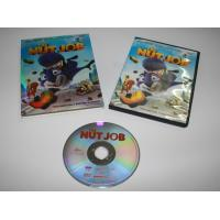 Wholesale newest release Disney cartoon DVD Movies The Nut Job free shipping by DHL,Escrow