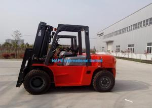 China 3 Stage 4500mm Mast Warehouse Lifting Equipment Streamline Appearance For Loading Timber on sale