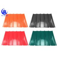 China 3 Layer Heat Insulation Roof Tiles Pvc Anti Heat Roofing Cover on sale