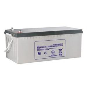 China Electric Bike / Golf Cart 6FM200 AGM Lead Acid Battery 200AH With ISO9001 / ISO14001 on sale