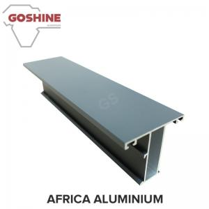 China Aluminum Extrusion Profiles Window with Natural Oxidation for africa market on sale