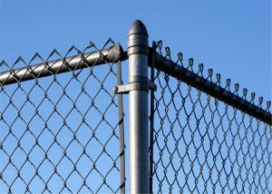 """China 3'height x 50' width Chain link, 2""""(50mm) mesh x 9 gauge(3.4mm) galvanized wire, or vinyl coated h ASTM-A392-81-Class 1. on sale"""