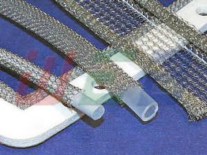 China monel/aluminum/stainless steel knitted wire mesh tube on sale