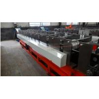 5.5kw / 7.5kw / 11kw Circular Gutter Downspout Roll Forming Machine Gearbox Driven
