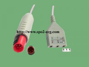 China Bionet BM3 Reusable Ecg Patient Cable Round 8 Pin 3.6 Metre CE Standard on sale