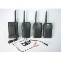 China Wireless Full Duplex Walkie Talkie / Small Two Way Radios 2.4GHz on sale