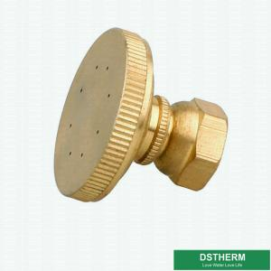 China Customized Brass Garden Fittings 360 Degrees Adjustable Brass Water Fine Mist Sprayer Hose Nozzle on sale