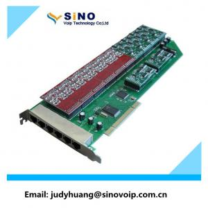 China Hot Sale 24 Port fxs/fxo Voip Asterisk Card same as digium card on sale