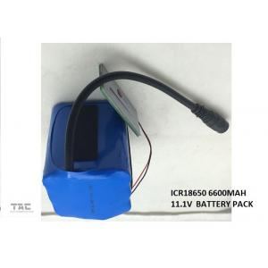 China Lithium Car Battery , 18650 11.1V 6.6Ah LI-ION Battery Pack for Car Power Tool on sale