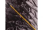 Yellow Carbon Fiber Telescopic Fishing Rod / Rigid Carbon Fibre Extendable Pole