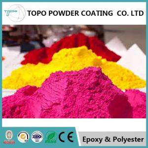 China RAL 1012 Decorative Powder Coating For Aluminium Windows 10 Mos Shelf Life on sale