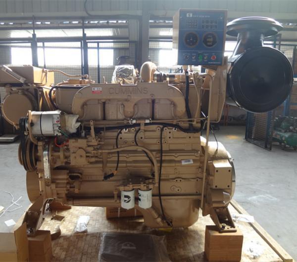 350HP Main Cummins Marine Diesel Engines , Diesel Boat