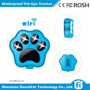 China IP66 waterproof pet device made in china gps tracker manufacturer with wifi anti-lost on sale
