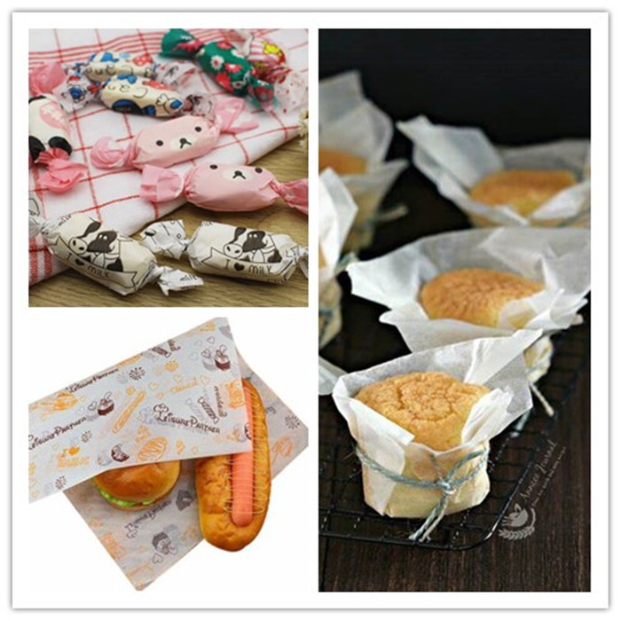 Single Side Coating White Bread Wrapping Kraft Paper With FSC Approved