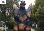2.3 Meters Amusement Park Giant Realistic Dinosaur Models Animatronic Godzilla