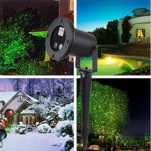 China Waterproof laser star lights for Christmas outdoor Landscape decorations Green & red laser Projector on sale