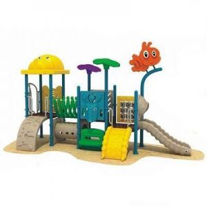 China Engineering Plastic Outdoor Playground AM-1672A on sale