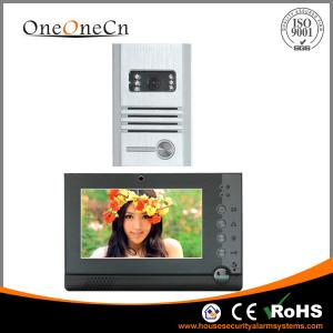China Intercom Video Door phone  Alarm Video Record 7'' LCD Motion Detector on sale