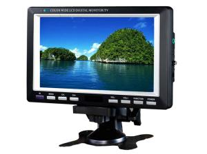 China 7 Inch Portable LCD TV Touchscreen Monitor with FM,USB,SD on sale
