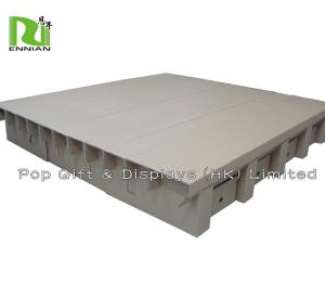 China Cardboard Corrugated Bed with Drawer  / Csutom Made Strong Corrugated Furniture on sale